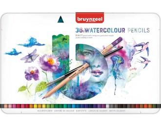 Boite de crayons aquarelle...