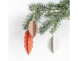 Décorations de Noël en bois...